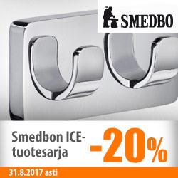 Smedbo ICE -tuotesarja -20%