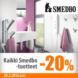 Kaikki Smedbo-tuotteet -20%