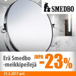 Erä Smedbo-meikkipeilejä jopa -23%