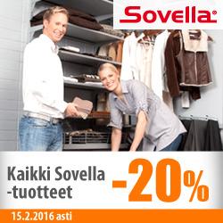 Kaikki Sovella-tuotteet -20%