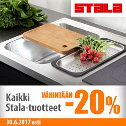 Kaikki Stala-tuotteet vähintään -20%
