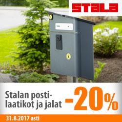 Stalan postilaatikot ja jalat -20%