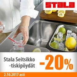 Stala-seitsikko tiskipöydät -20%
