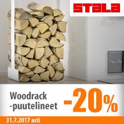 Stala Woodrack -puutelineet -20%