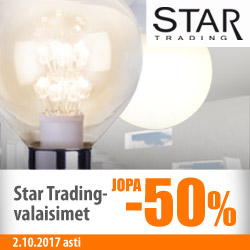 Star Trading -valaisimet jopa -50%