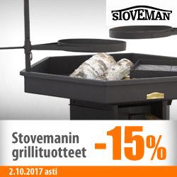 Stovemanin grillituotteet -15%