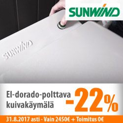 Sunwind El-dorado polttava käymälä -22%