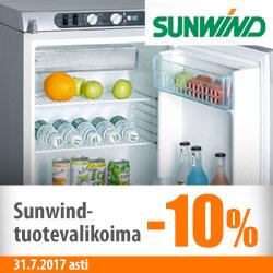 Sunwind-tuotevalikoima -10%