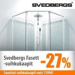 Svedbergs Fasett -suihkukaapit -27%