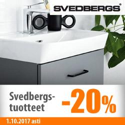 Kaikki Svedbergs-tuotteet -20%