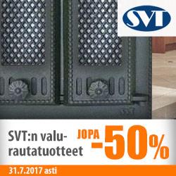 SVT:n valurautatuotteita jopa -50%