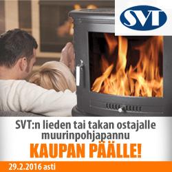 SVT:n lieden tai takan ostajalle muurinpohjapannu kaupan päälle!