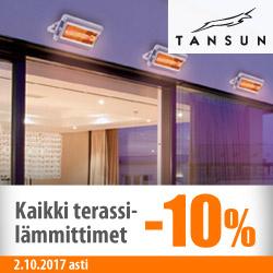 Tansun-terassilämmittimet -10%
