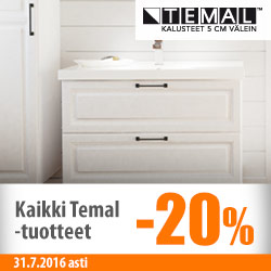 Kaikki Temal-tuotteet -20%