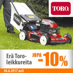 Erä Toro-ruohonleikkureita -5-10%