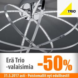 Erä Trio-poistovalaisimia -50%