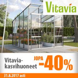 Kaikki Vitavia-kasvihuoneet jopa -40%