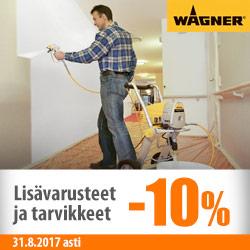 Wagner-lisävarusteet ja -tarvikkeet -10%
