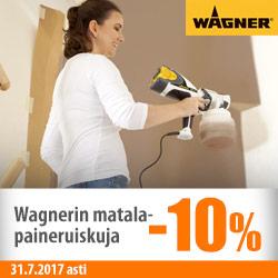 Erä Wagner-maaliruihkuja -10%