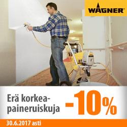 Wagner-korkeapainemaaliruiskuja -10%