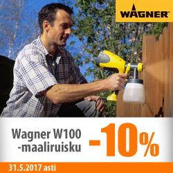 Wagner W100-maaliruisku -10%