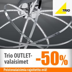Trion poistovalaisimet -50%