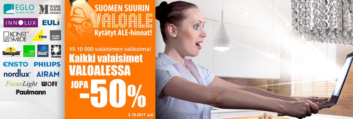 Suomen suurin VALOALE!