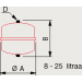 Kalvopaisunta-astia 18l 0,5/3 bar kuva3