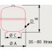 Kalvopaisunta-astia 50l 0,5/6 bar kuva3