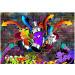 Kuvatapetti Artgeist Graffiti: Colourful attack, eri kokoja kuva0