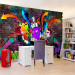Kuvatapetti Artgeist Graffiti: Colourful attack, eri kokoja kuva1