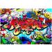 Kuvatapetti Artgeist Street art: Red theme, eri kokoja kuva0