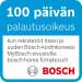 Jääkaappipakastin Bosch KGV39VW31, 249/94l, 201x60cm, valkoinen kuva2