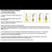 Aarni-LED, saunavalosetti, Aarni, 12 osaa lämmin valkoinen teräs kehys-17