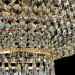 Kristallivalaisin Maytoni Diamant Crystal Palace 05-G, 400mm, antiikkikulta kuva8
