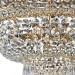 Kristallivalaisin Maytoni Diamant Crystal Palace 14-G, 800mm, antiikkikulta kuva6