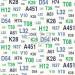 ESTA-Tapetti Emblems 136439 0,53x10,05 m vihreä/sininen non-woven