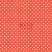 ESTA-Tapetti Dots 138101 0,53x10,05 m korallinpunainen/valkoinen non-woven