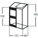 Kasvihuone Altan 0,9m², 4mm kennolevyllä kuva2