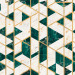 Tapetti Mindthegap Gramercy, 0.52x10m, valkoinen/vihreä