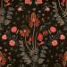 Paneelitapetti Mindthegap Gypsy, 1.56x3m, musta