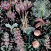 Paneelitapetti Mindthegap Garden of eden, 1.56x3m, musta