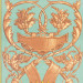 Paneelitapetti Mindthegap Fontainebleau, 1.56x3m, turkoosi