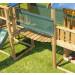 Leikkikeskuksen lisämoduuli Jungle Gym Bridge Link