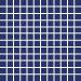 Mosaiikkilaatta Pukkila Pro Technic Color Cobalt Blue, himmeä, sileä, 23x23mm