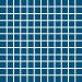 Mosaiikkilaatta Pukkila Pro Technic Color Aqua Blue, himmeä, sileä, 23x23mm