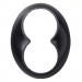 Schneider Electric-Renova 2-pistorasian kehys, musta