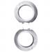 Schneider Electric-Renova päätykehyspari, valkoinen marmori
