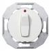 Schneider Electric-Renova 6T-vipupainike, merkkivalolla, valkoinen