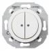 Schneider Electric-Renova 2-pienjännitepainike, valkoinen